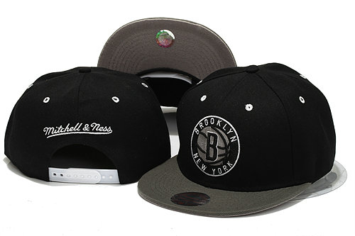 Brooklyn Nets Snapback Hat YS 1